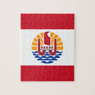 Low Cost! French Polynesia Flag Puzzle