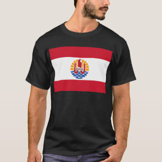 Low Cost! French Polynesia Flag T-Shirt