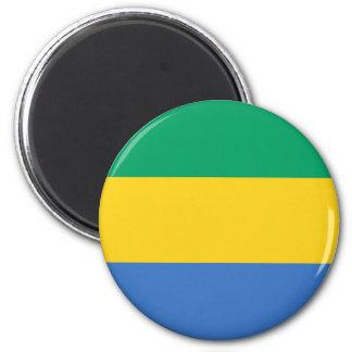 Low Cost! Gabon Flag Magnet