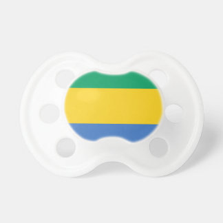 Low Cost! Gabon Flag Pacifiers