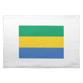 Low Cost! Gabon Flag Place Mats