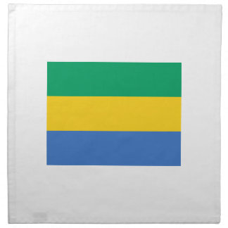Low Cost! Gabon Flag Printed Napkin