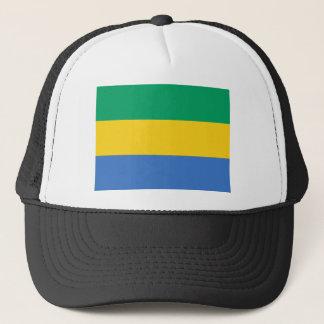 Low Cost! Gabon Flag Trucker Hat