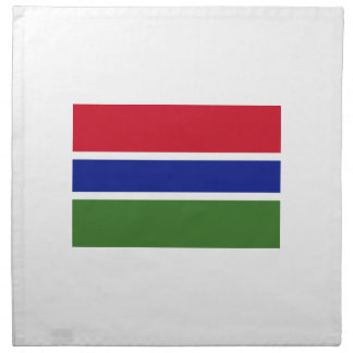 Low Cost! Gambia Flag Napkin
