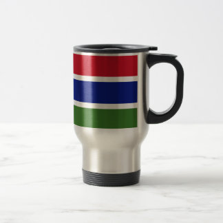 Low Cost! Gambia Flag Travel Mug