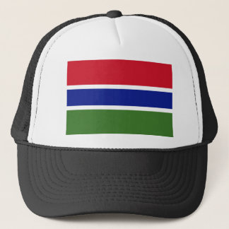 Low Cost! Gambia Flag Trucker Hat