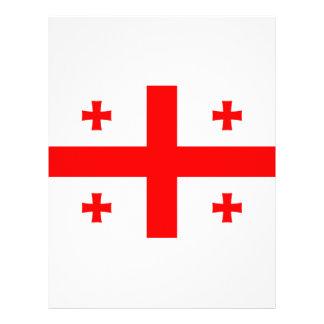 Low Cost! Georgia Flag Letterhead Design