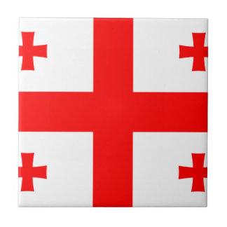 Low Cost! Georgia Flag Tile