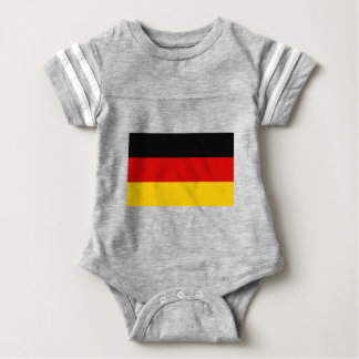 Low Cost! German Flag Baby Bodysuit