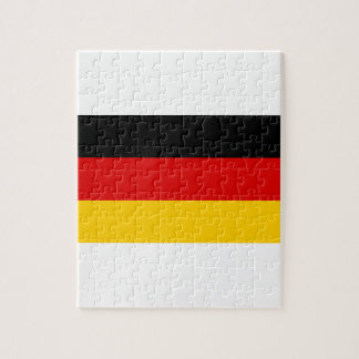 Low Cost! German Flag Jigsaw Puzzle