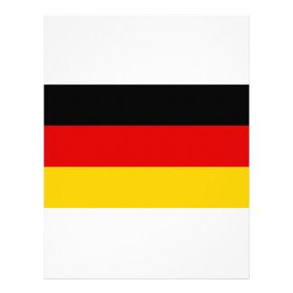 Low Cost! German Flag Letterhead
