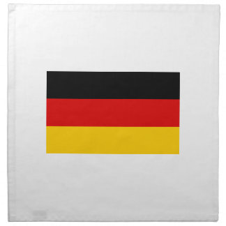 Low Cost! German Flag Napkin