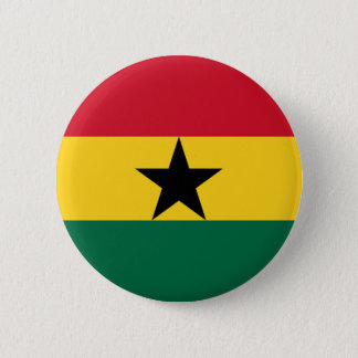 Low Cost! Ghana Flag 2 Inch Round Button