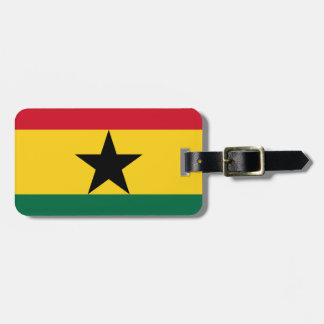 Low Cost! Ghana Flag Luggage Tag