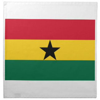 Low Cost! Ghana Flag Napkin
