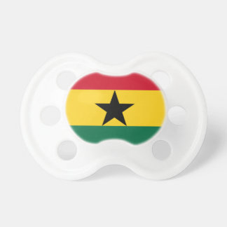 Low Cost! Ghana Flag Pacifier