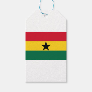 Low Cost! Ghana Flag Pack Of Gift Tags