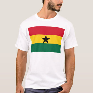 Low Cost! Ghana Flag T-Shirt
