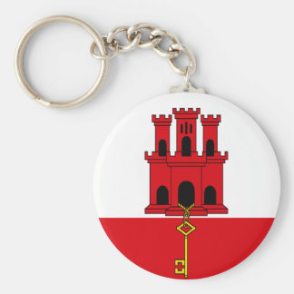 Low Cost! Gibraltar Flag Keychain