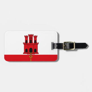 Low Cost! Gibraltar Flag Luggage Tag