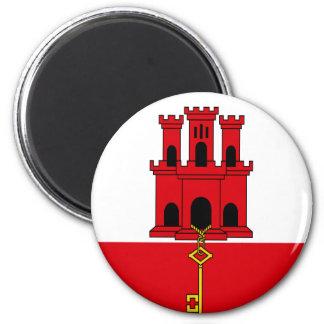 Low Cost! Gibraltar Flag Magnet