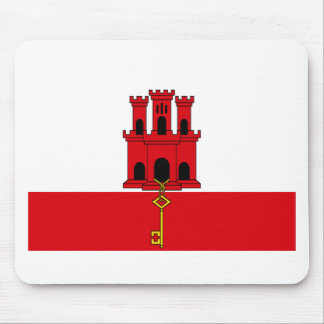 Low Cost! Gibraltar Flag Mouse Pad