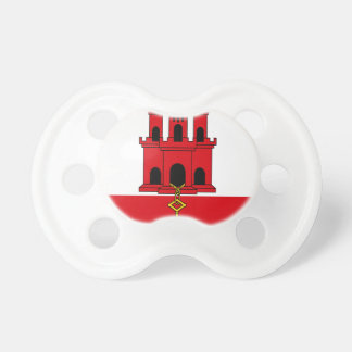 Low Cost! Gibraltar Flag Pacifier