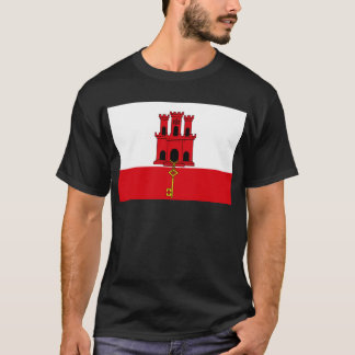 Low Cost! Gibraltar Flag T-Shirt