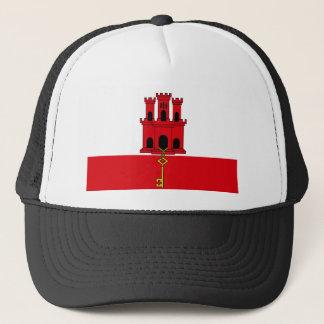 Low Cost! Gibraltar Flag Trucker Hat