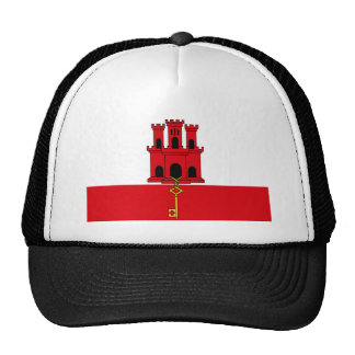 Low Cost! Gibraltar Flag Trucker Hat
