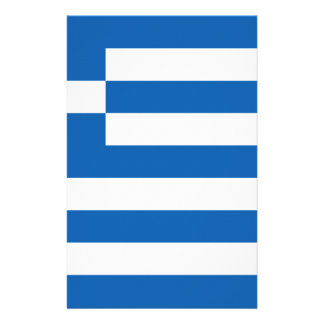 Low Cost! Greece Flag Customized Stationery