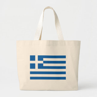 Low Cost! Greece Flag Large Tote Bag