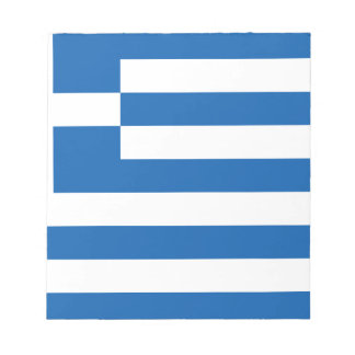 Low Cost! Greece Flag Notepad