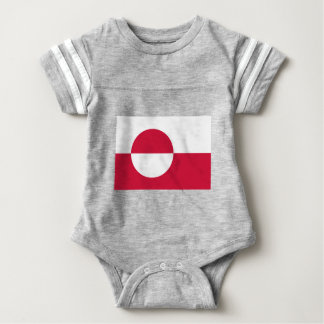 Low Cost! Greenland Flag Baby Bodysuit