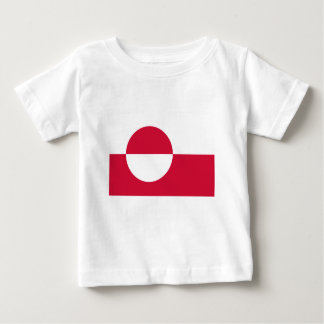 Low Cost! Greenland Flag Baby T-Shirt