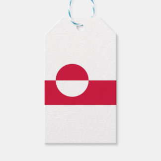 Low Cost! Greenland Flag Gift Tags