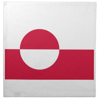 Low Cost! Greenland Flag Napkin