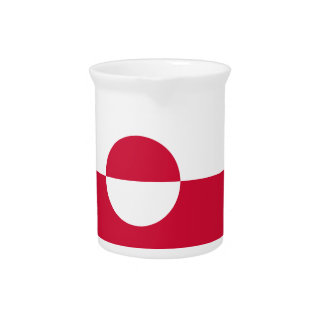 Low Cost! Greenland Flag Pitcher