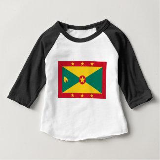 Low Cost! Grenada Flag Baby T-Shirt