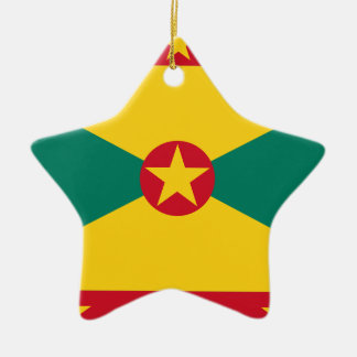 Low Cost! Grenada Flag Ceramic Ornament