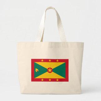 Low Cost! Grenada Flag Large Tote Bag