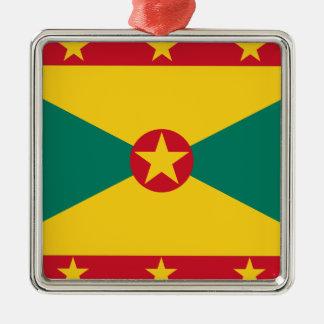 Low Cost! Grenada Flag Metal Ornament