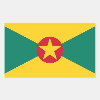 Low Cost! Grenada Flag Sticker