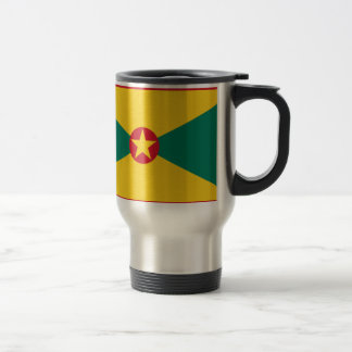 Low Cost! Grenada Flag Travel Mug
