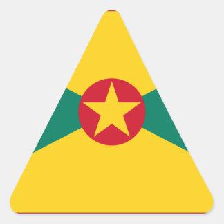 Low Cost! Grenada Flag Triangle Sticker