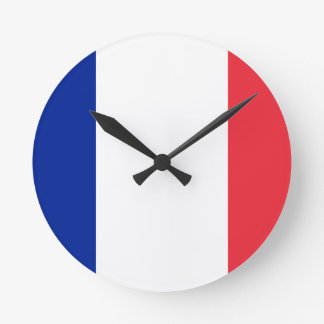 Low Cost! Guadeloupe Flag Round Clock