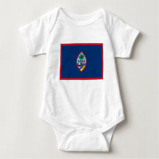 Low Cost! Guam Flag Baby Bodysuit