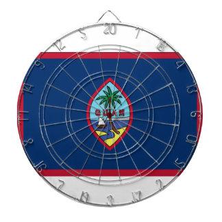 Low Cost! Guam Flag Dartboard