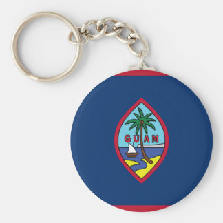 Low Cost! Guam Flag Keychain