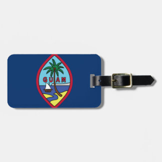 Low Cost! Guam Flag Luggage Tag